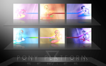 Pony Platform Wallpaper Pack by Vexx3