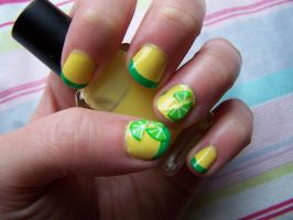Lime Nails by natsnails