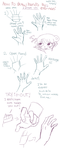 A simple way to draw hands... for JLP412 by eto-nani
