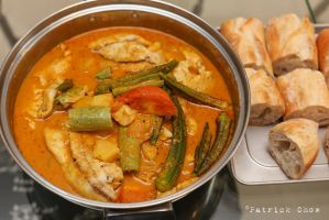 Fish curry by patchow