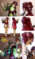 Poison Ivy (Arkham Knight) Papercraft by Sabi996