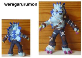 weregarurumon by wolengel