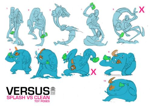 Robin Keijzer toys Splash VS Clean by RobinKeijzer