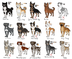 Ginga Point Adoptables (2 left) by C0M3T-69