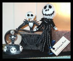 Jeltjes Skellington Popke by DarkDollArt