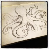 Octo-Sketch WIP by Curlygurly222