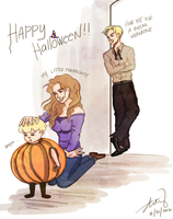 A Dramione Halloween Colored by deimlacquer