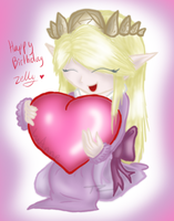Happy Birthday Zelly by Luifex
