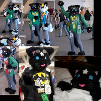 Anthrocon 2011 - Spacecat by Xandeichan