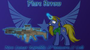 Flare Arrow OC by 1nfiltrait0rN7