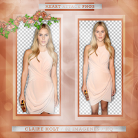 Pack png Claire Holt 02 by lightsfadeout