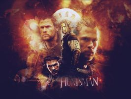 . the huntsman wallpaper . by ImprintedVampire