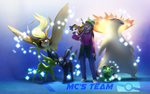 Commission: Poketeam (MCGoldYoshi) by JA-punkster