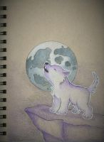Day 6: Purple Beast by sketchwithtiff