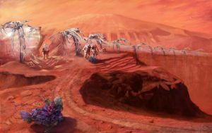 Mars: An Ode to Percival Lowell by jpacer
