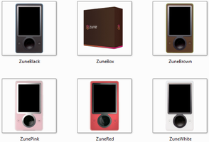 Zune Icon Pack by JamisonX