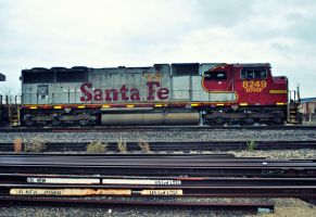 BNSF 8249 ex ATSF by SMT-Images