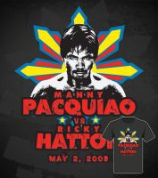 manny pacquiao - shirt by xtianares
