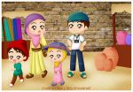Family Holiday by tieq