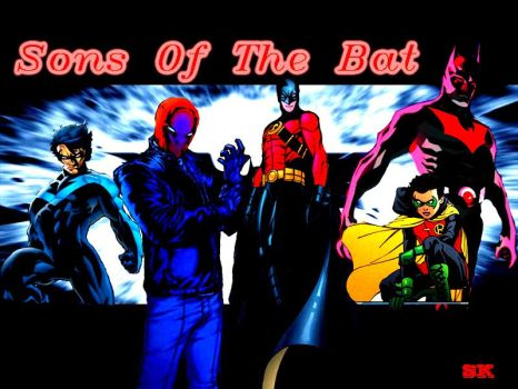 Sons of The Bat (comic version) by tRUjusTICE001