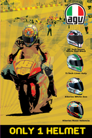 Poster AGV Retro by warriorsoul79