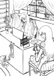 Sesshomaru In The Office by rougedeath