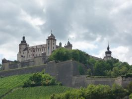 festung marienberg by mimose-stock