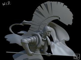 Winged Hussar -WIP by leticiakao
