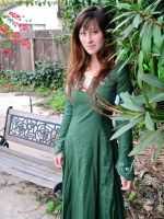 Susan Pevensie - Archery Dress by shinycostumes