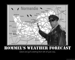 Rommels weather forecast by 4WD