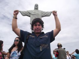 Holding the Cristo's Hands by bbmbbf