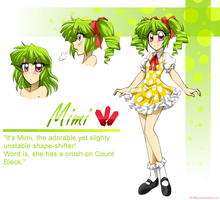 Mimi the Shape-shifter! by DJ-Mika