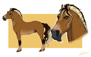 Commission. Horse Design by Wild-Hearts