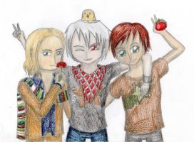 Bad Touch Trio by lillilotus