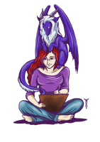 Me and my Dragon by TrollGirl