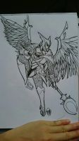 skywrath mage sketch by zareah