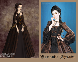 Romantic Threads Brown and Black by msbrit90