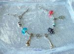 Zelda Wind Waker 3mm Slider Charm Bracelet Custom by TorresDesigns