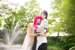 Hakuryuu x Morgiana Magi Cosplay [HakuMor] by firecloak