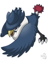 Pokeddexy Day 2: Honchkrow by VaultScout