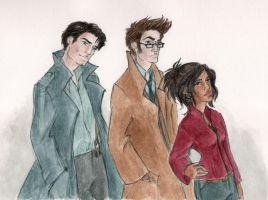 Team TARDIS circa S3 by oboe-wan
