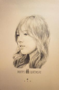 Happy Birthday Taeyeon by weishern