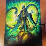 Commision: Voldemort - Copics by RobDuenas