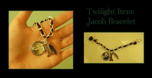 Twilight-Jacob Bracelet by moonlit0wolfess