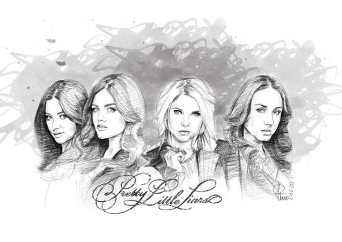 Pretty Little Liars by joanap