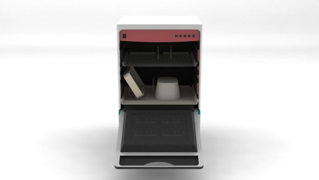 Dishwasher Concept Front by Dj23