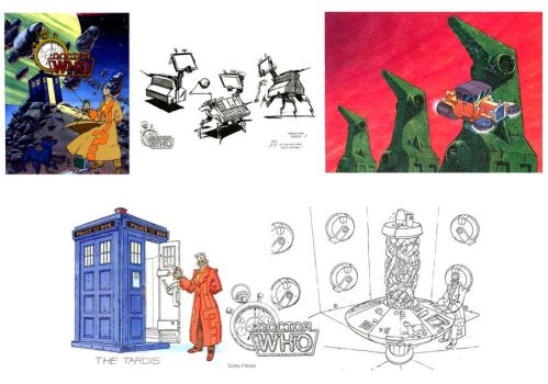 DOCTOR WHO Cartoon - Concept Art Pg 2 by jimg1972