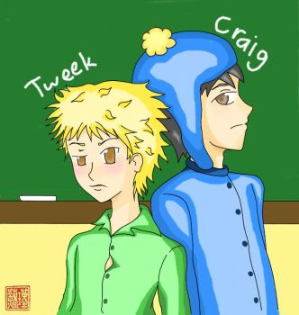 SP: Craig and Tweek 01 by luckyclover9191