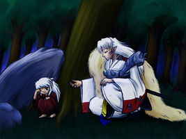 Inuyasha - Little Big Brother by Supermike1990