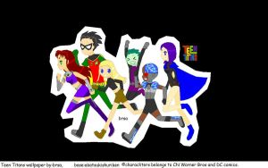Teen Titans group wallpaper by brsa